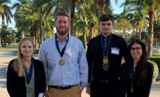 Florida Tech Project Takes Top Prize at Statewide Senior Design Showcase