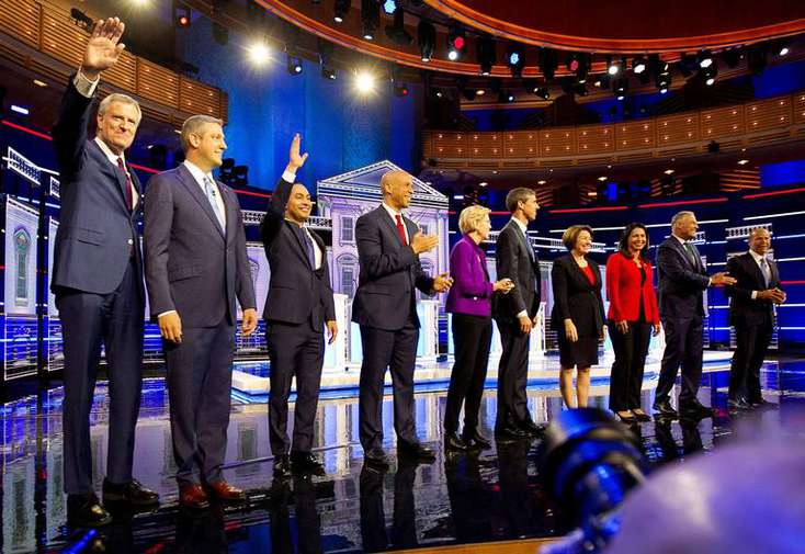 After debates, Democratic presidential candidates leave behind a vacuum in Florida for Trump to fill