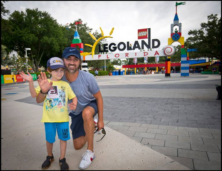 Around the Legoland world in 13 days — Father and son's epic journey ends in Florida